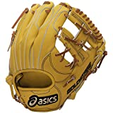 asics(アシックス) 野球 軟式用グローブ(内野手用) ゴールドステージ BGR6GJ ブラウンゴールド/ライトブラウン LH