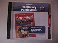 Bon Voyage! Level 1: Vocabulary Puzzlemaker, CD-Rom