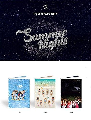 3枚セット【翻訳付】TWICE SUMMER NIGHT 2nd スペシャルアルバム(Aver + Bver + Cver 3枚SET)(韓国盤)(3×初回ポスター/特典付)(ワンオンワン店限定)