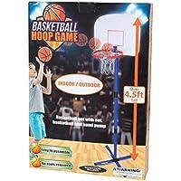 Daily Basicキッズスモールサイズ軽量インドア&アウトドアバスケットボールフープゲーム