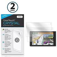 Garminドライブ51lmt-s ClearTouchアンチグレア( 2- Pack )とClearTouchクリスタル2パック–プレミアム品質スクリーンガードシールドにを傷–Chooseアンチグレア、またはクリスタルクリア bw-863-14496-0