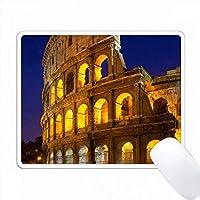 小石はローマのコロシアム、ローマ、ラツィオ、イタリアにつながる。 PC Mouse Pad パソコン マウスパッド