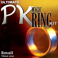 Ultimate Magic PK Ring Kit - Standard with Small Silver Ring by Magic Makers by Magic Makers [並行輸入品]