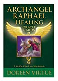 Archangel Raphael Healing Oracle Cards: A 44-Card Deck and Guidebook 画像