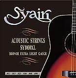 S.Yairi アコースティックギター弦 SY-1000XL エクストラライト (011-050) SY-1000XL