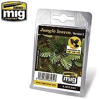 AmmoのMig Jimenez 1 : 32 – 35 – 48 Jungle Leavesバージョン2ジオラマアクセサリー# 8461