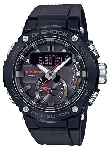 [カシオ] 腕時計 ジーショック G-STEEL ソーラー カーボンコアガード構造 GST-B200B-1AJF メンズ ブラック
