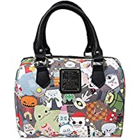 Loungefly x Nightmare Before Christmas Chibi Character Print Duffle Purse