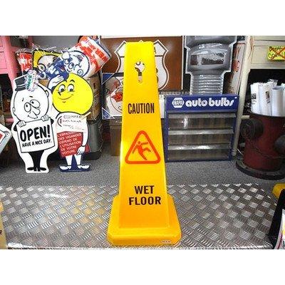セーフティ コーン Wet Floor Sign 注意看板 アメリカン 三角コーン