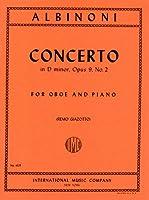 アルビノーニ: オーボエ協奏曲 ニ短調 Op.9/2/インターナショナル・ミュージック社/ピアノ伴奏付ソロ