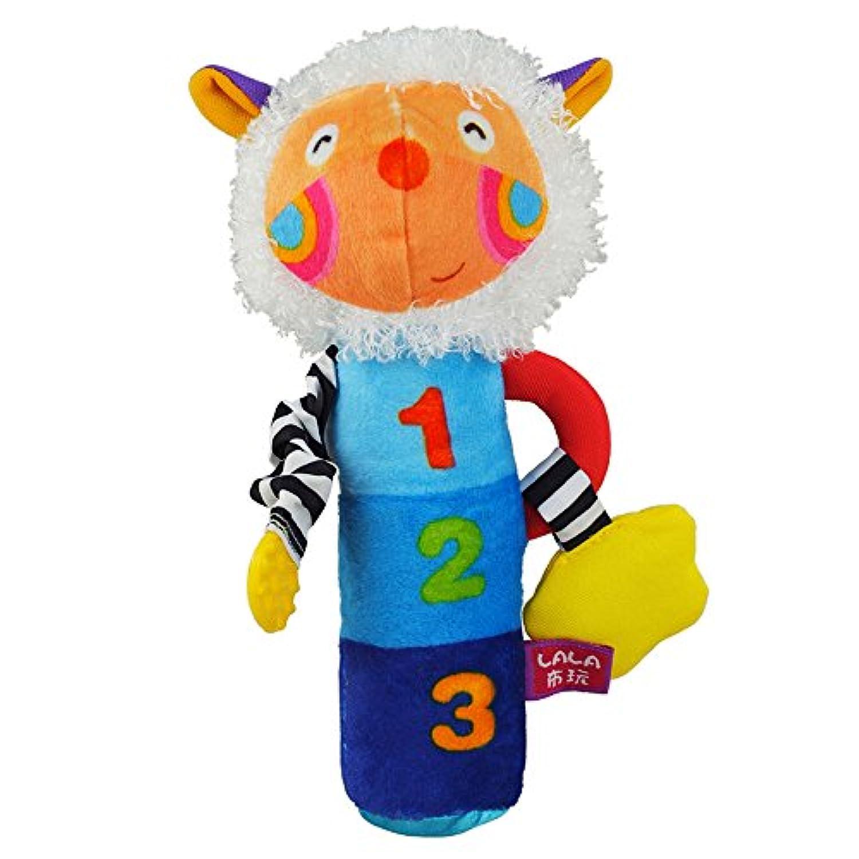 Lalababy赤ちゃん羊形状布おもちゃ明るい色100 %コットンFilled 3 – 36ヶ月の