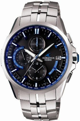 [カシオ]CASIO 腕時計 オシアナス Manta 電波ソーラー OCW-S3000-1AJF メンズ