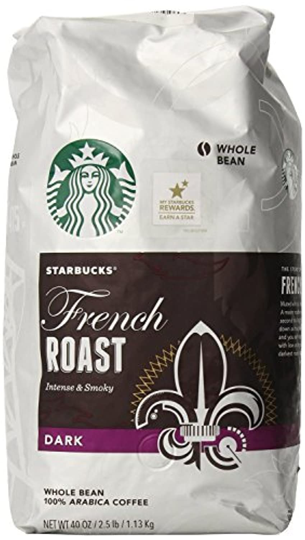 Starbucks スターバックスフレンチローストコーヒー豆 1125g 並行輸入品