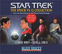 Spock vs. Q Gift Set (Star Trek)