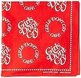 [ガールズドントクライ] バンダナ GDC-06 GDC CAFE BANDANA Red 日本 One Size (FREE サイズ)