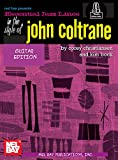Essential Jazz Lines: In the Style of John Coltrane - Guitar Edition (English Edition)