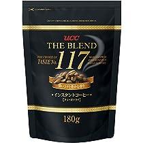 UCC ザ・ブレンド 117 インスタントコーヒー フリーズドライ 180g