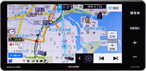 イクリプス(ECLIPSE) カーナビ AVN-R7W 地図...