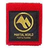 マーシャルワールド(MARTIAL WORLD) 帯止めワイド CBSPW-RD 赤 長さ20cm×幅4cm