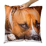 Westlakeアート装飾スロー枕???犬ペット???写真ホーム装飾リビングルーム???18?x 450?mm 18x18 in