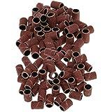 Perfeclan 100 Nail Drill Sand Band Machine Bits Manicure Sand Pieces Set Grit 80# 120#
