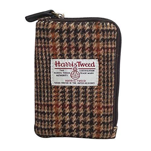 Harris Tweed cigarette 케이스・화장 파우치 브라운 HTMC-103