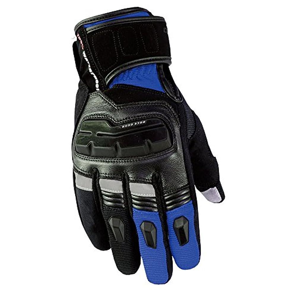 反逆者電球疑い者GLJJQMY アウトドアスポーツフルフィンガータッチスクリーンオートバイ通気性手袋登山ハイキング狩猟手袋、複数の色 グローブ (色 : 青, サイズ さいず : M)