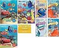 Disney PixarカラーリングExperienceバンドル、3Pixarカラーリングブック( Pixar Pals Coloring Book、アドベンチャーカラーリングジャンボBook、ステッカーScenes )と4Finding Dory Playパック