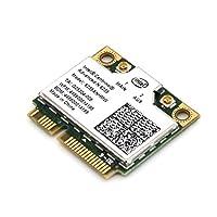 Intel Centrino Advanced-N 6235 802.11a/b/g/n 最大リング300Mbps WIFI + BlueTooth 4.0 Combo Card (6235ANHMW) ハーフ-フルサイズ変換 アダプタ付き