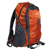 DABADA(ダバダ) バックパック リュックサック 35L 登山リュック ザック 防災リュック レインカバー付 (オレンジ)