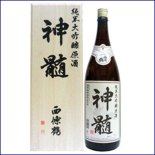 西條鶴 特選 純米大吟醸原酒 神髄 1800ml(桐箱入り)