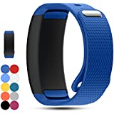 Samsung Gear Fit 2 Pro/Fit 2 SM-R360 Replacement Watch Band Strap - Feskio Accessory Soft Silicone Wristband Strap Sport Band Bracelet for Samsung Gear Fit 2 Pro/SM-R360 Smartwatch