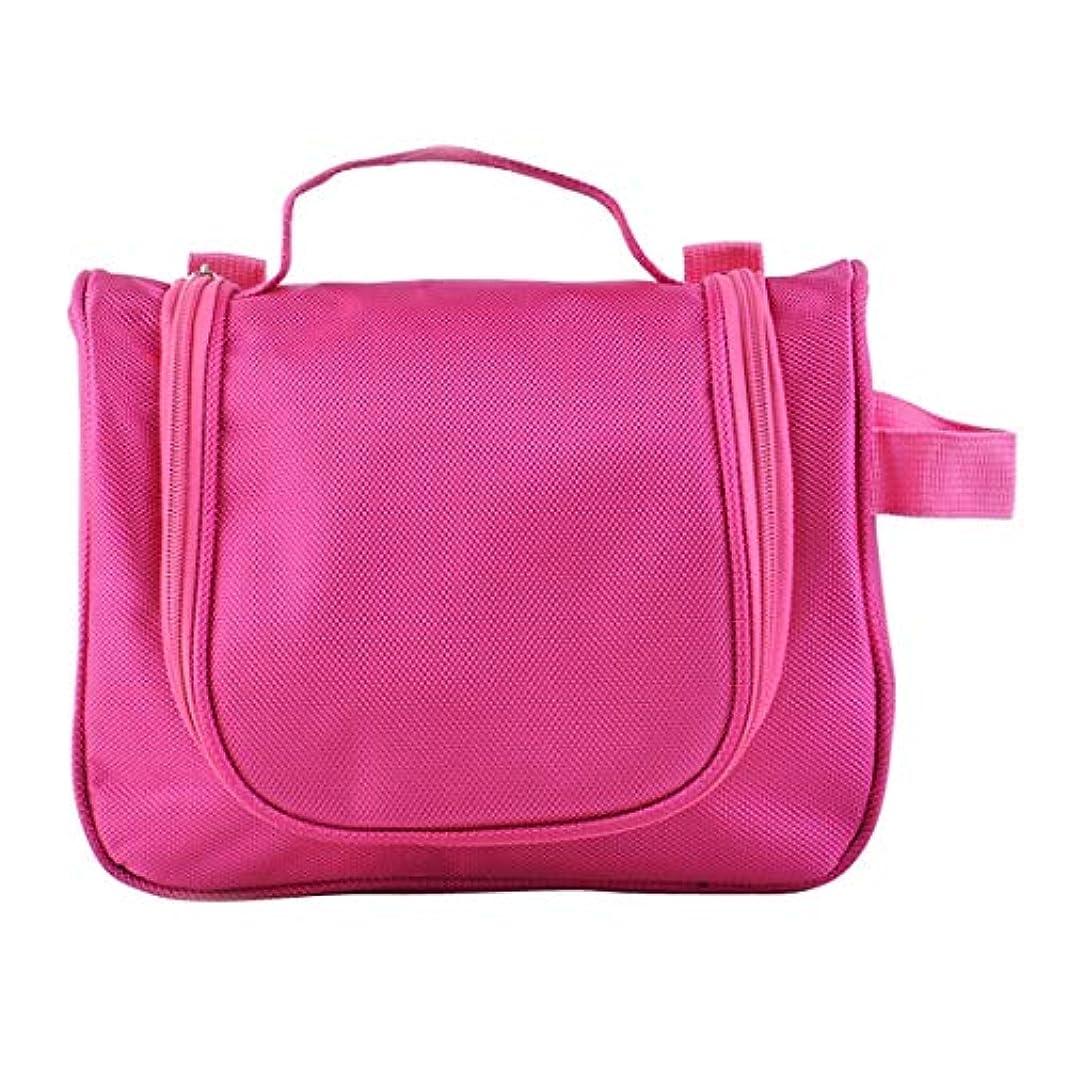 コウモリランチ無許可MEI1JIA QUELLIA大容量化粧品ウォッシュバッグ(マゼンタ) (色 : Magenta)