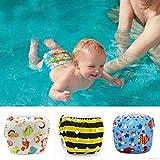 St. Lun Baby Waterproof Swimming Diaper Adjustable Swim Diaper Pool Pant PP Pant (Color : 2)