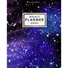 Weekly Planner 2020: Nifty Weekly & Daily Views, To-Do's, Inspirational Quotes & Funny Holidays, Vision Boards, Notes & More | 2020 Organizer, ... and Diary | Pretty Abstract Universe Print
