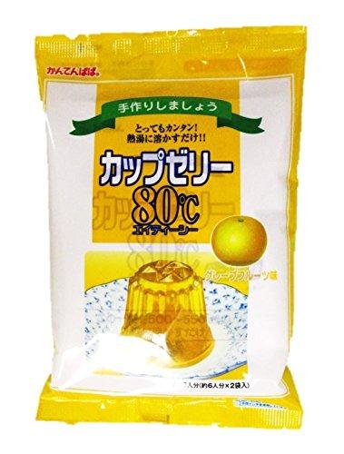 かんてんぱぱ カップゼリー グレープフルーツ味100gX5袋