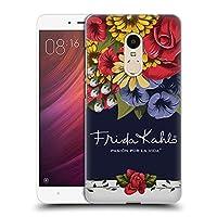 Official Frida Kahlo ブルーム レッド・フローラル ハードバックケース Xiaomi Redmi Note 4