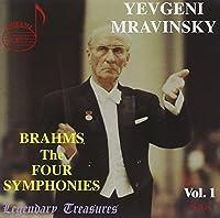 Mravinsky Conducts Brahms: The 4 Symphonies