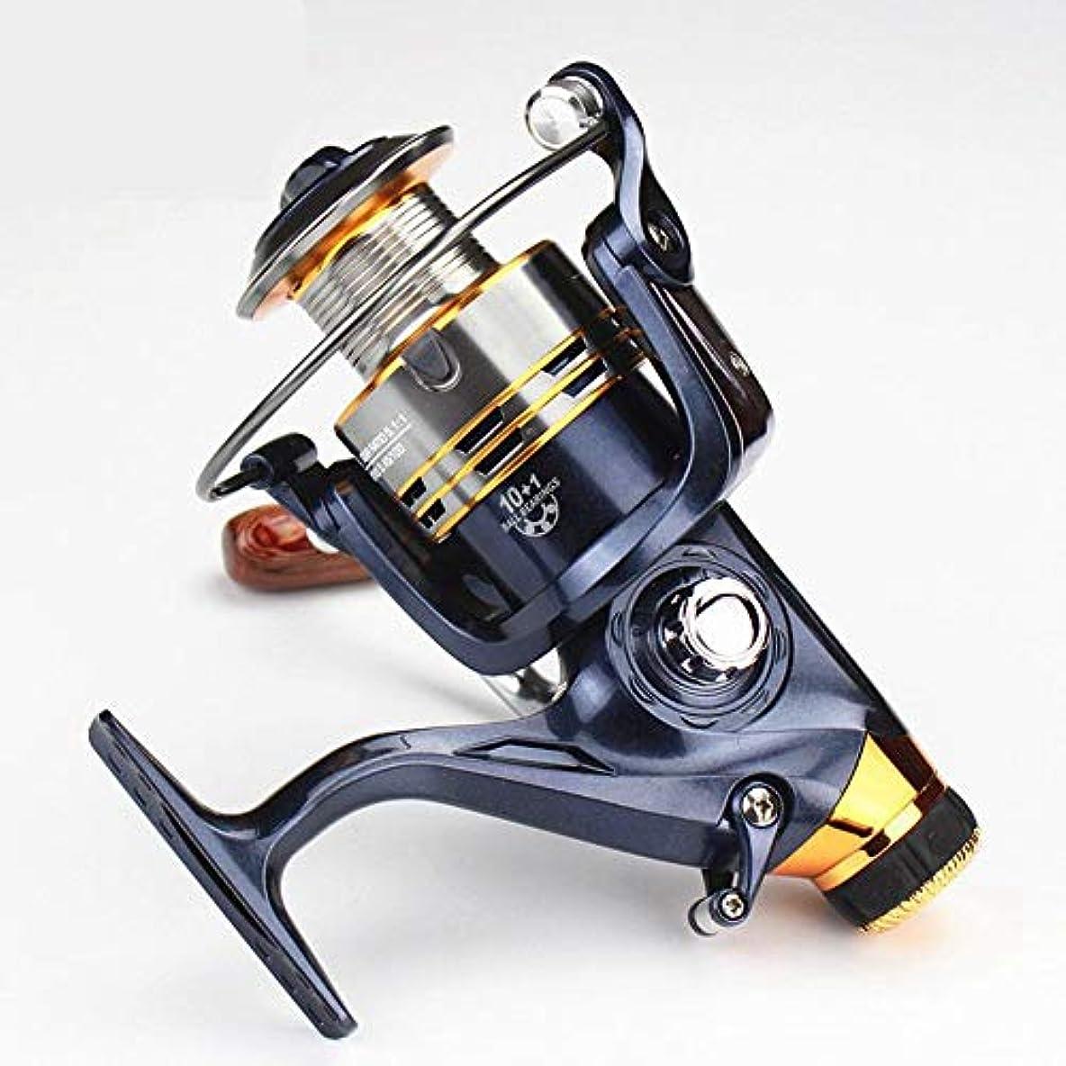 好奇心くすぐったいチャレンジYESONEEP フロントとリアのブレーキリールイカホイール釣りリールスピニングホイール鯛釣りホイール (Size : SW6000)