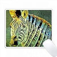 抽象的なゼブラ PC Mouse Pad パソコン マウスパッド