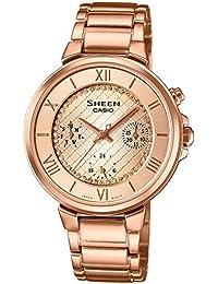 [カシオ]CASIO 腕時計 SHEEN SHE-3040GJ-9AJF レディース
