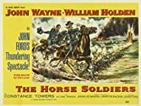 The Horse Soldiersポスター30 x 40ウェインジョン・ウィリアム・ホールデンHoot Gibson Unframed 506438