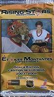公式ライセンスNHLPA Pack of 3Rising Stars Hockeyカード~ Goalie Edition 2003–2004DuracellカナダPromo ( 2003Gilletteカナダ)