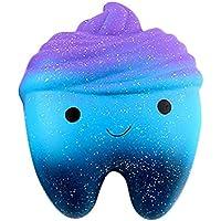 neband Squishy歯ケーキ、香りつきSlow Rising Galaxyソフトおもちゃコレクションギフト子供大人