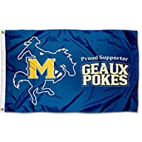 McNeese State Cowboys Geaux Pokes Collegeフラグ