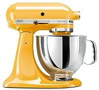 KitchenAid ksm150psbfアーティザン5-quartスタンドミキサー、バターカップ