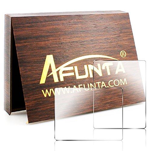 AFUNTA カメラ保護フィルム 液晶保護フィルム Sony DSLR Alpha NEX-7 NEX-6 NEX-5 A6000 A6300 A5000 カメラ用 LCDスクリーンプロテクター 液晶保護ガラス 2枚入り