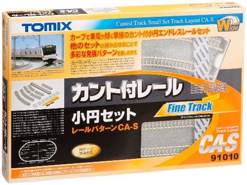 TOMIX Nゲージ 91010 カント付レール小円セットCA-S