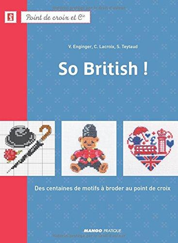 MANGO <So British!> クロスステッチ図案集-フランス語 E2501388