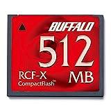 BUFFALOその他 RCF-Xシリーズ コンパクトフラッシュ RCF-X512MYの画像